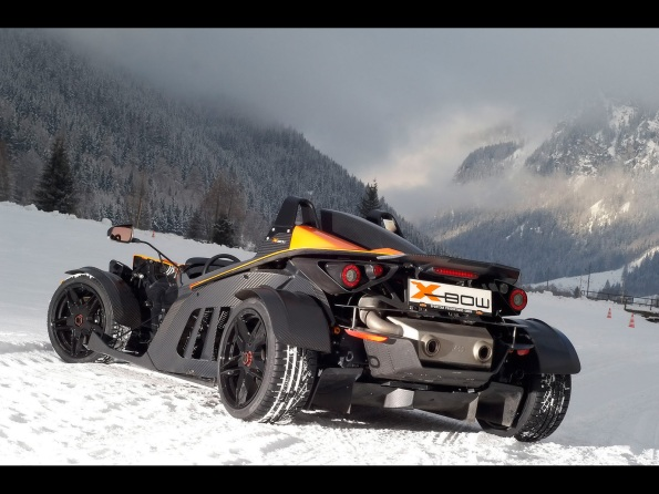 2009-ktm x bow winter drift rear angle tilt