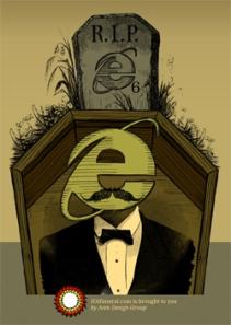 پوستر مراسم تشییع جنازه IE6